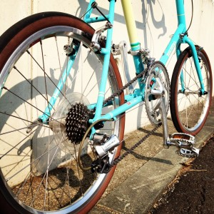 RD-7800 Dura-Ace装着後のBruno minivelo Road20